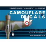 Camouflage & Decals 48-01 Caudron CR.714; Morane Ms.406;Curtiss Hawk H75A