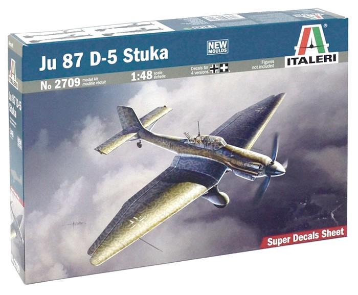 JU-87 stuka D-5 ITALERI 1/48