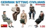 MiniArt 38006 [1:35]  German Sitting Civilians \'30s-\'40s