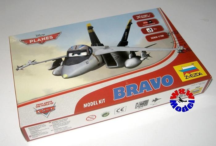 aa9a3279c9652e ZVEZDA 2065 Disney Planes Bravo :: Sklep Modelarski ww-model.pl
