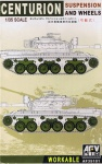 AFV Club AF35101 [1:35]  Centurion Suspension and Wheels