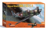 DORA WINGS DW48021 [1:48]  Bloch MB.155