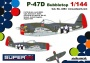 EDUARD 4464 [1:144]  P-47D Bubbletop