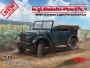 ICM 35581 [1:35]  le.gl.Einheits-Pkw Kfz.1, WWII German Light Personnel Car