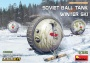MiniArt 40008 [1:35]  Soviet Ball Tank with winter ski