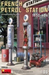 MiniArt 35619 [1:35]  French petrol Station 1930-40s