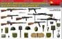 MiniArt 35268 [1:35]  Soviet Infantry Automatic Weapons & Equipment.Special Edition