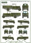 Model Maker D35016  Kalkomania  Polish Truks and armored cars markings 1920-1939 1/35