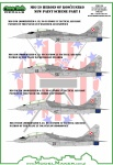 Model Maker D48087  Kalkomania   MiG-29 Heroes of Kościuszko new paint scheme part I- 1/48