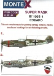 MONTEX SUPER MASK K32147  Messerschmitt Bf 109E-1