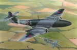 "MPM 72567 [1:72]  Gloster Meteor F.Mk.I  ""The first Britis Jet Fighter"""