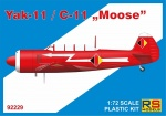 "RS Models 92229 [1:72] Yak-11 / C-11 ""Moose"""