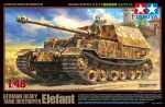 TAMIYA 32589 [1:48]  Elefant. German Heavy Tank Destroyer