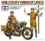TAMIYA 35316 [1:35]  British BSA M20 Motorcycle w/Military police set