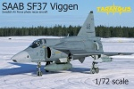 TARANGUS 7204 [1:72]  Saab SF 37 Viggen. Photo Recce aircraft