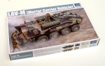 TRUMPETER 00391 [1:35]  LAV-M ( Mortar Carrier Vehicle)