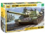 ZVEZDA 3688 [1:35]  SU-100 Soviet Self-Propelled Gun